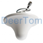 800-2500MHz Indoor Omni Ceiling Mount Antenna 3dBi